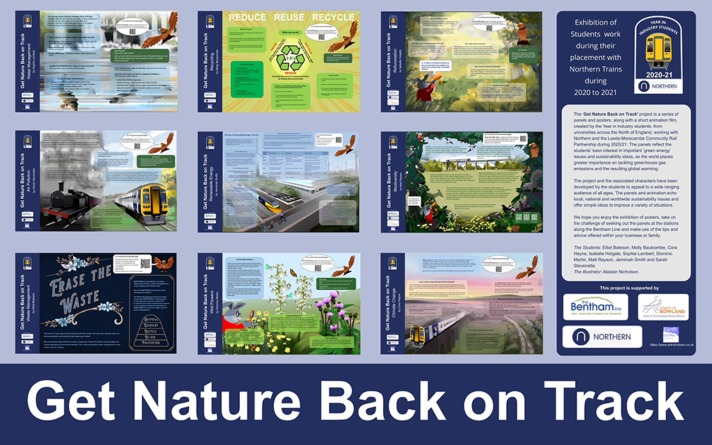 Get Nature Back on Track exhibition